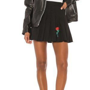 Superdown Mini Skirt Size XS Black
